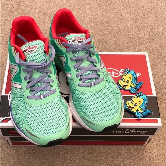 little mermaid new balance sneakers